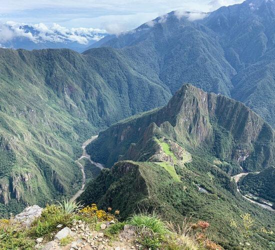 Machu Picchu Perufrom the mountain Machu Picchu the Inca city Machu Picchu is beautiful