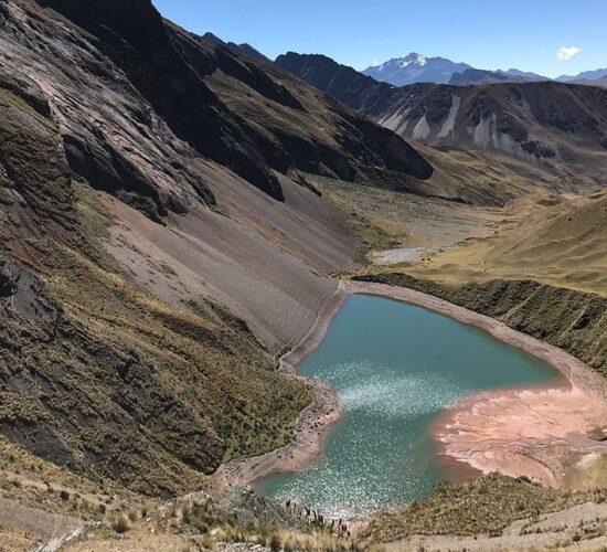 Ancascocha Lakethe ancascocha lake is undoubtedly beautiful surrounded by mountains and a beautiful landscape