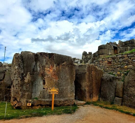 gigantic stones in the Sacsayhuaman