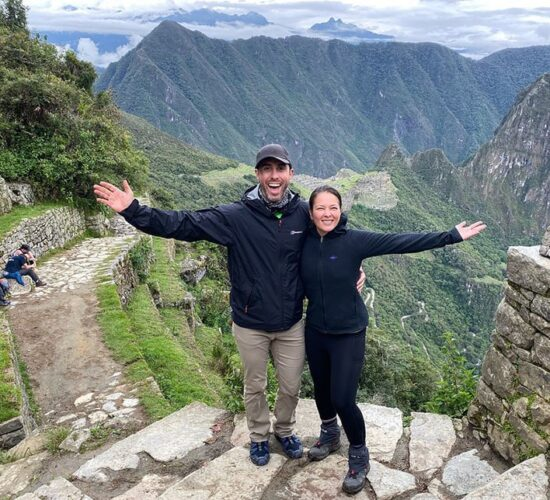 Machu Picchu Perufrom this point Machu Picchu looks beautiful.