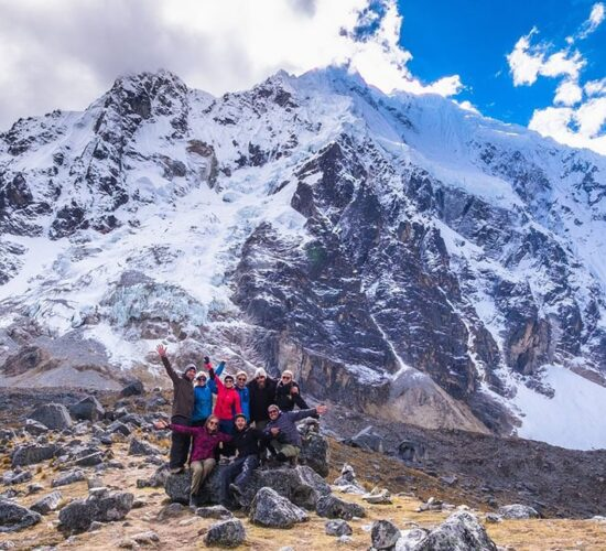 the salkantay pass 3670m, without a doubt the salkantay trek 3 days surprises us all.